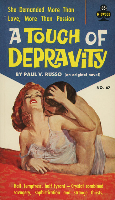 Midwood Books 67 - Paul V. Russo - A Touch of Depravity