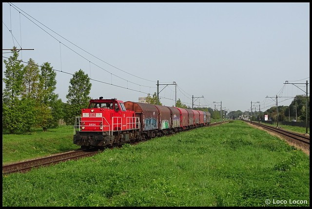 DB Cargo 6454 // Geleen Lutterade 11092020