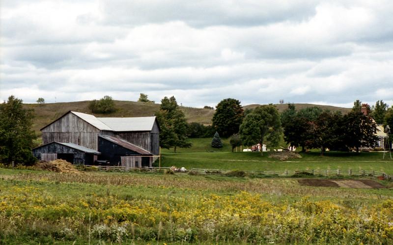 Barn in the Field