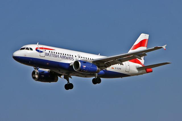 G-EUPR Airbus A.319-131 British Airways LHR 22-09-20