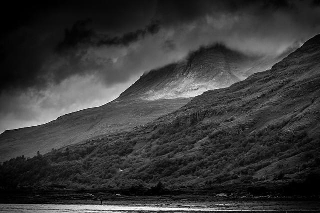 Dramatic Loch Torridon-BW