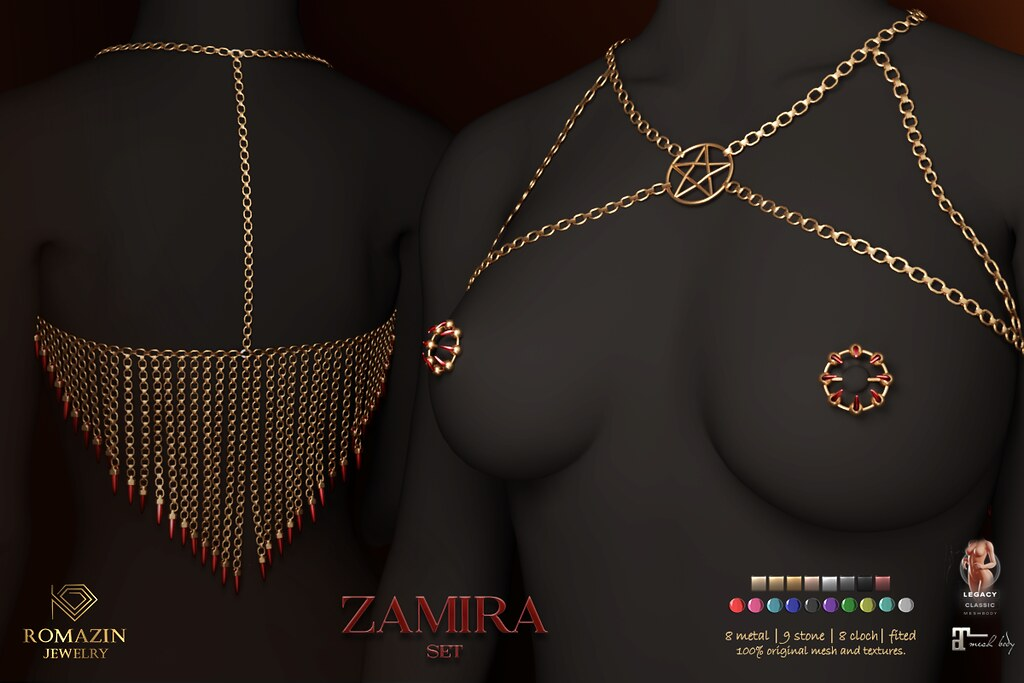 Romazin – Set <Zamira> – WIP