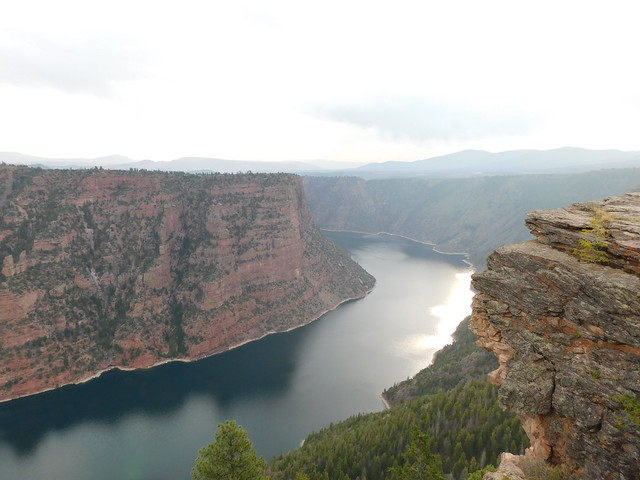 Red Canyon of the Flaming Gorge