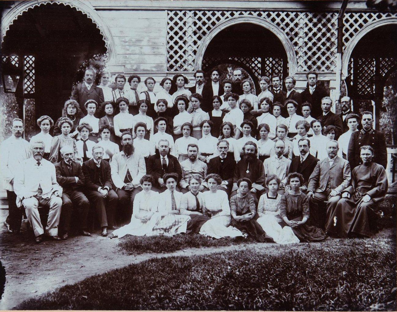 1900-е. Земский съезд городских и сельских учителей. Серпухов