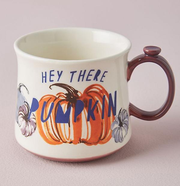 pumpkin mug anthropologie