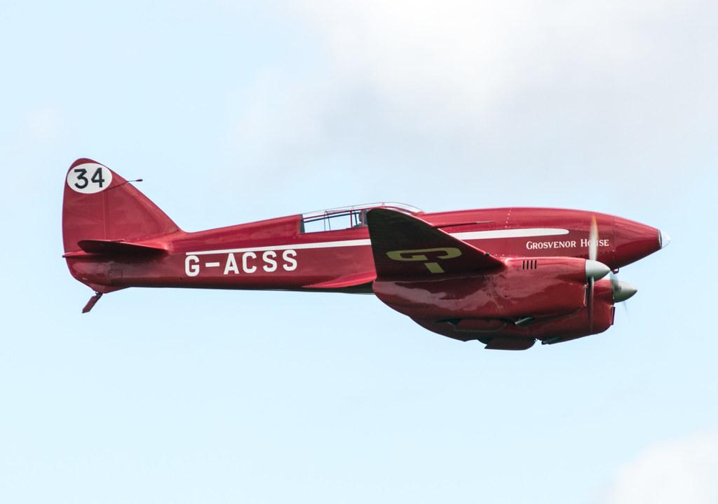 de Havilland DH88 Comet - G-ACSS