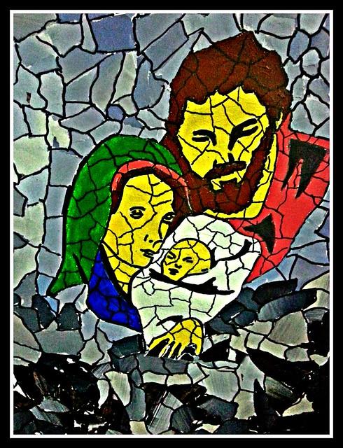 Joseph, Mary and Infant Jesus