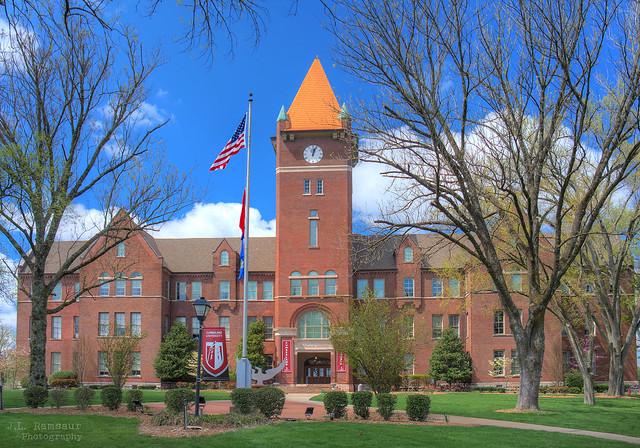Memorial Hall - Cumberland University - Lebanon, Tennessee