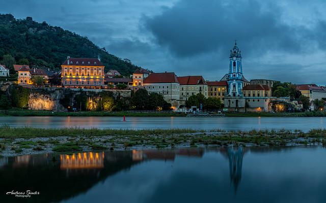 Regen in Dürnstein