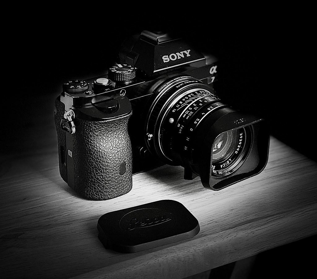 Sony A7 with my Leica 35mm cron (f2)