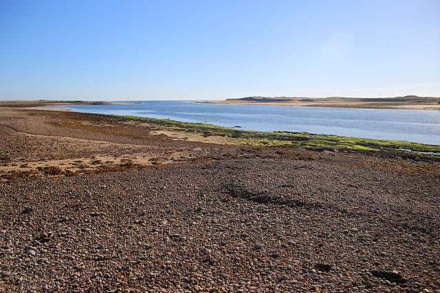 The beach at Loch Fleet near Golspie