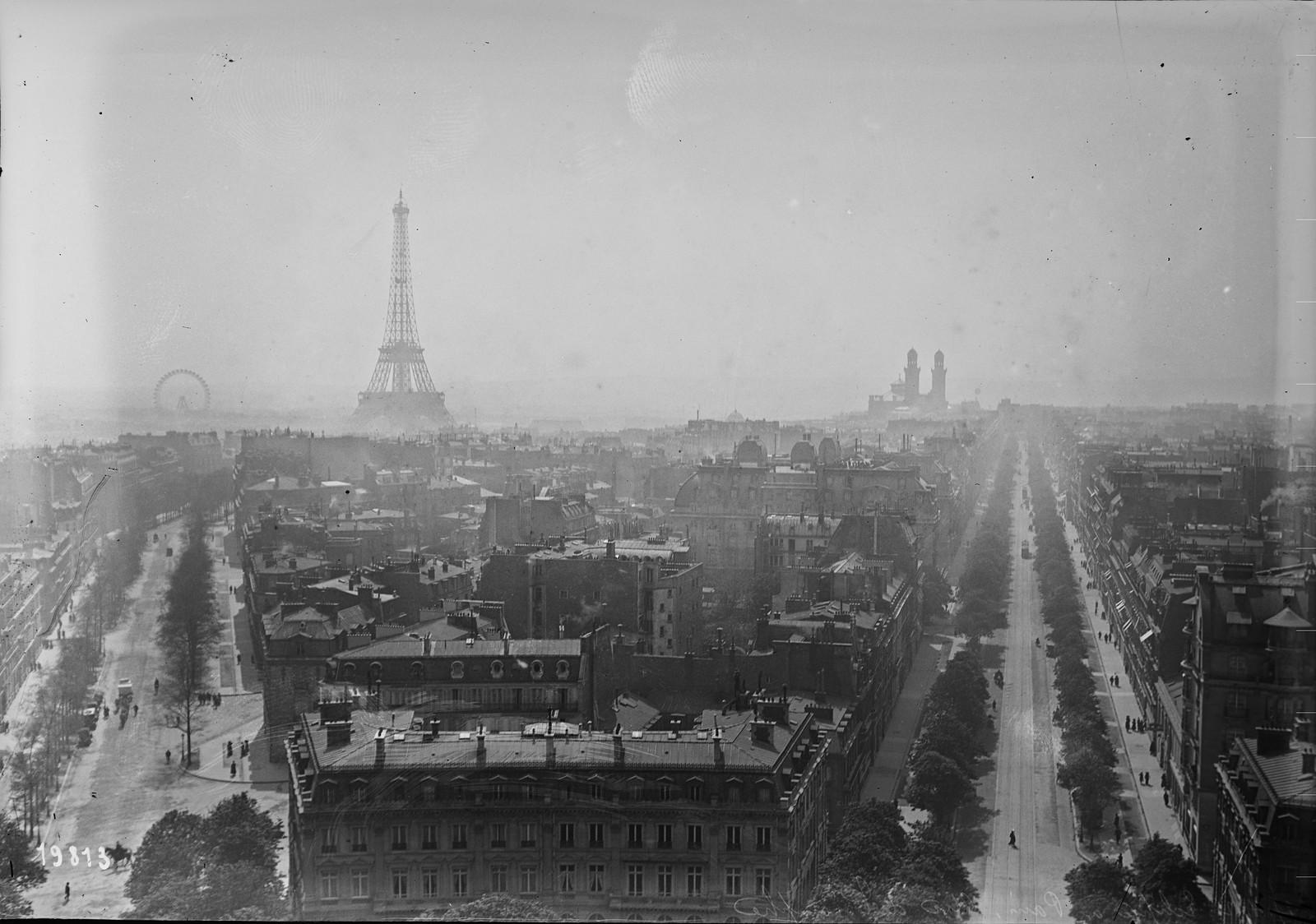 1912. Солнечное затмение в Париже 17 апреля