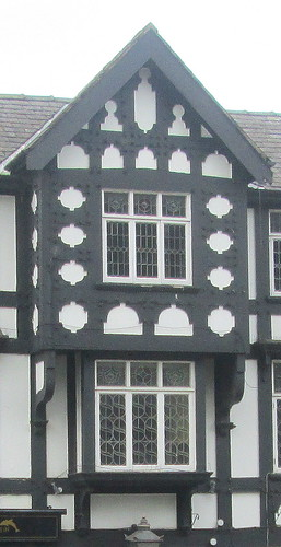 Tudor Style + S Patterned Windows, Mold, North Wales