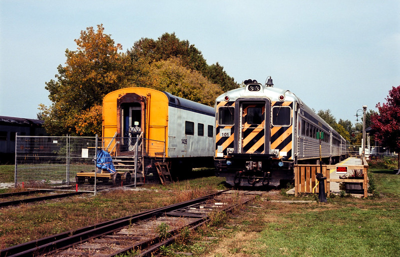 Dining Car and Active Rolling Stock