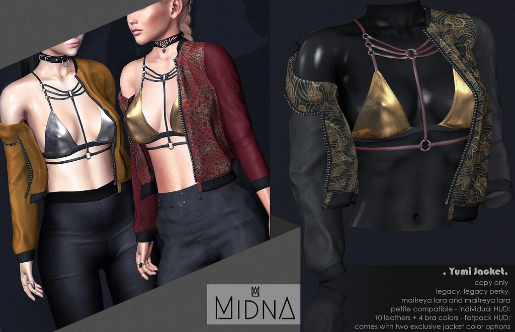 MIDNA – Yumi jacket