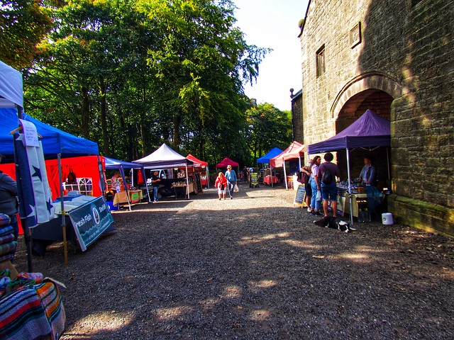 The farmers' market     -     Chorley district