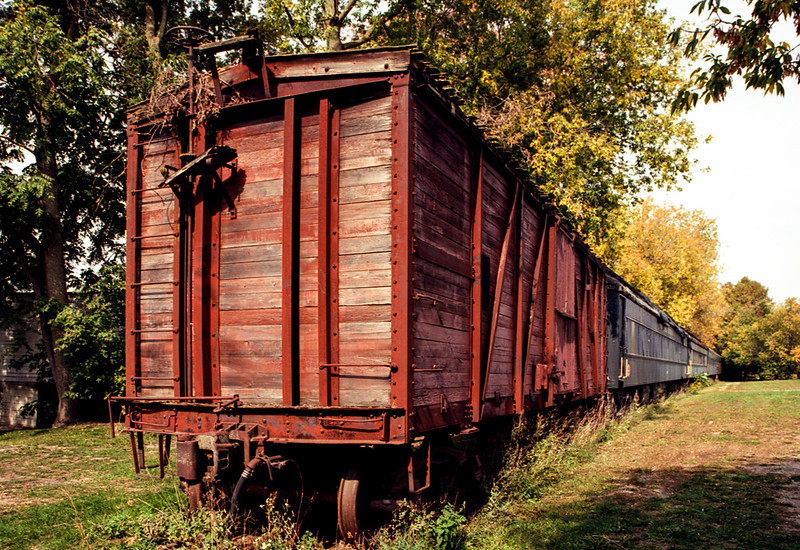 Wooden Boxcar on the YDHR