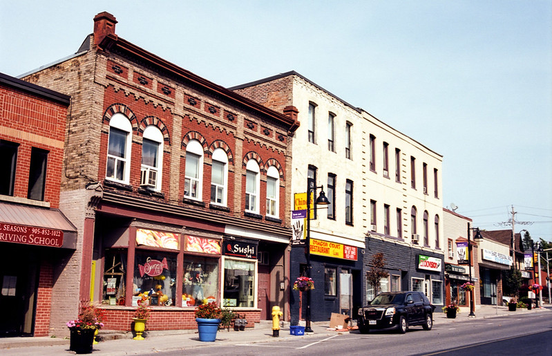 Downtown Uxbridge Storefronts_