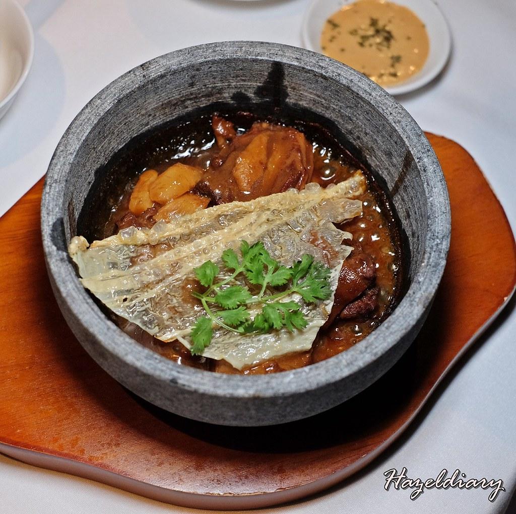 Wan Hao Chinese Restaurant- Traditional Braised Lamb with Mushroom & Bamboo Shoot
