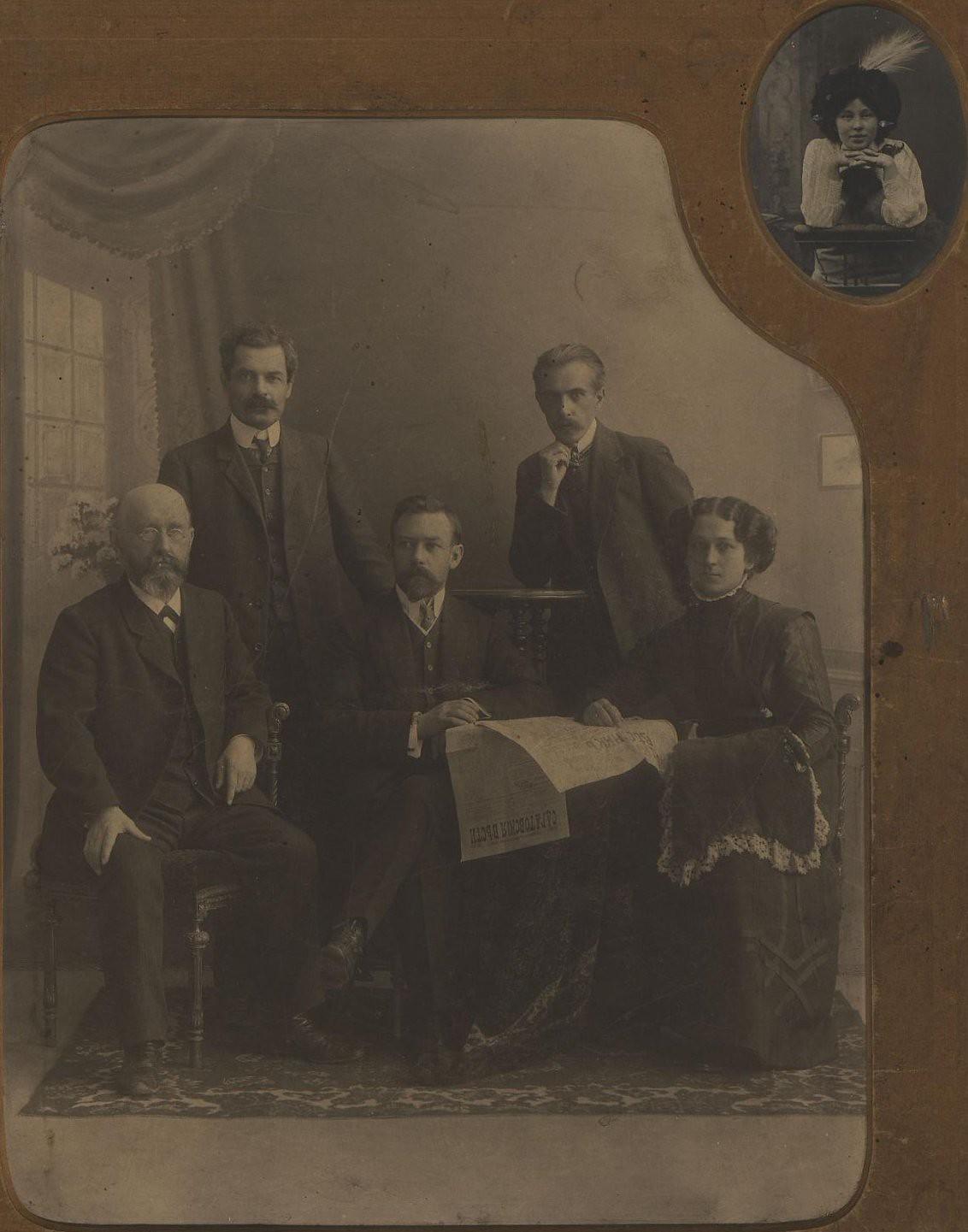1909. Редакция газеты «Саратовские вести»