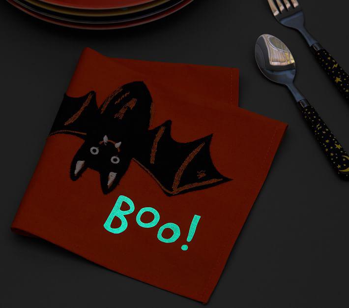 halloween bat napkins