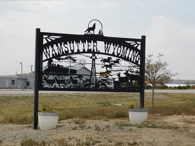 Welcome to Wamsutter, Wyoming