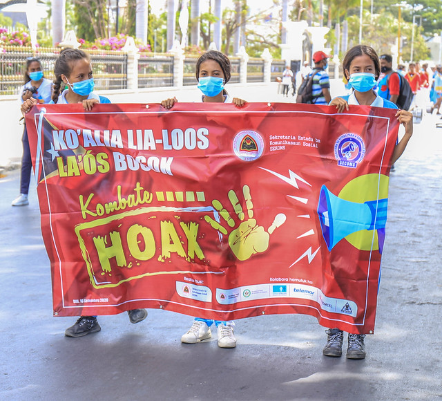 "Launch of the National Campaign ""KOMBATE HOAX"" (combating rumors and false information)"