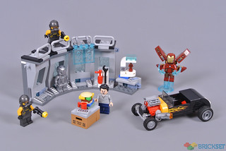 Review: 76167 Iron Man Armoury