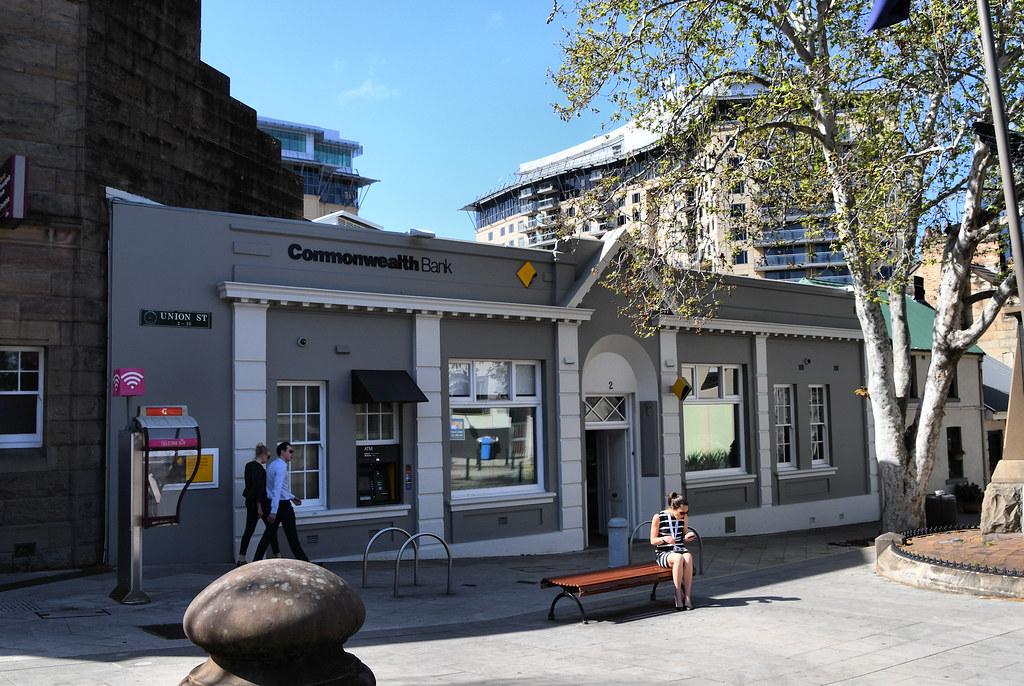 Commonwealth Bank, Pyrmont, Sydney, NSW.