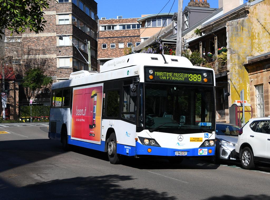 Bus 1943, Darlinghurst, Sydney, NSW.
