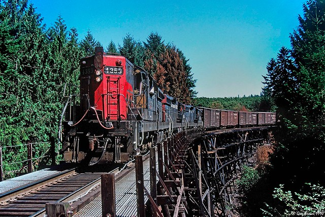 Just another timber trestle on the Newberg Branch