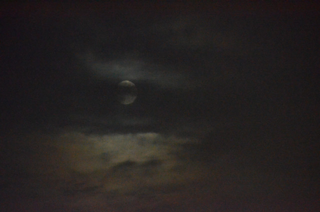 Full Moon Between Clouds, September 29, 2020 3 bpz full