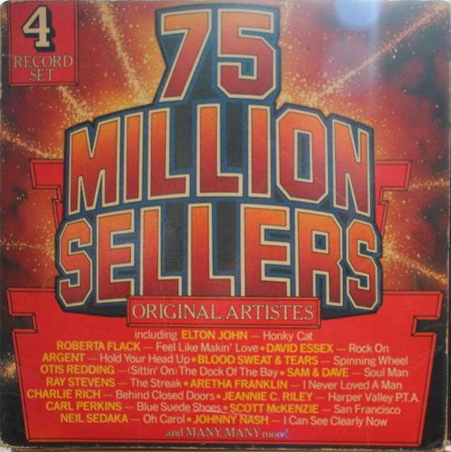 75 Million Sellers Various Vinyl Album Set 1952-74