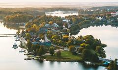 Trakai | Lithuania aerial
