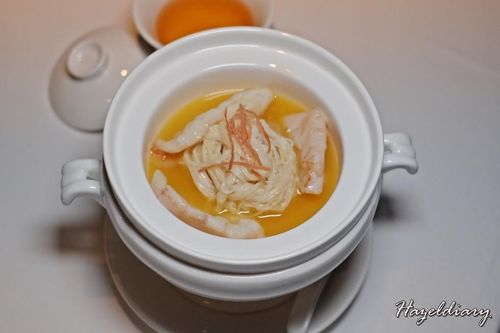 Wan Hao Chinese Restaurant-Garoupa Longevity Noodles in superior stock