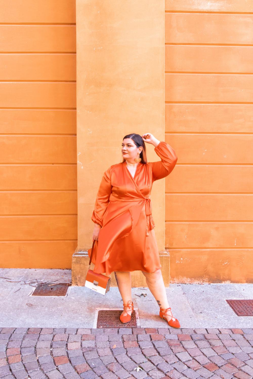 Curvy Color Challenge arancione (9)