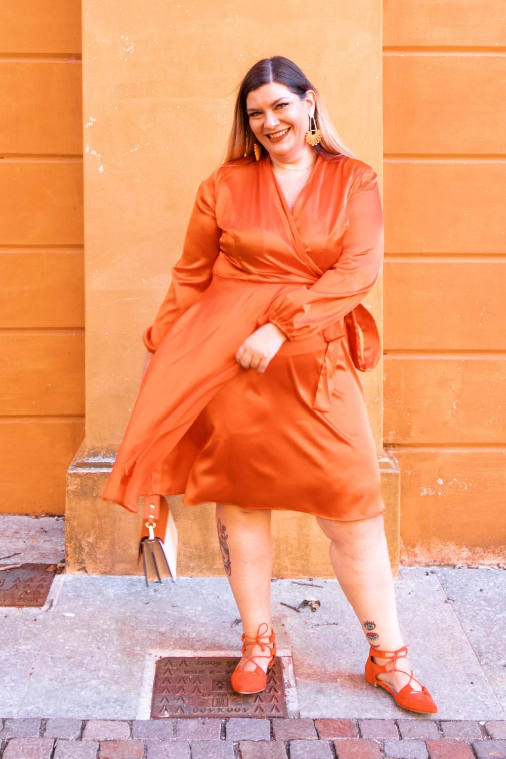 Curvy Color Challenge arancione (8)