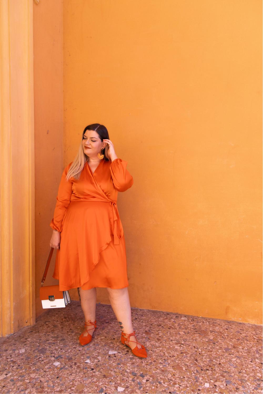 Curvy Color Challenge arancione (2)
