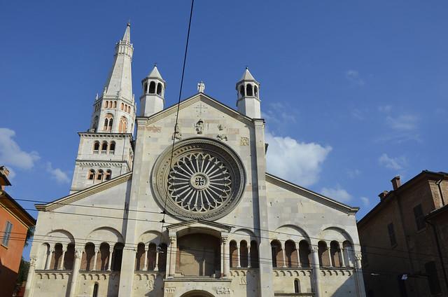 2020.09.06.028 EMILIA-ROMAGNA - MODENA - le Duomo di Santa Maria Assunta in Cielo e San Geminiano  (XI° au  XIV° siècles)