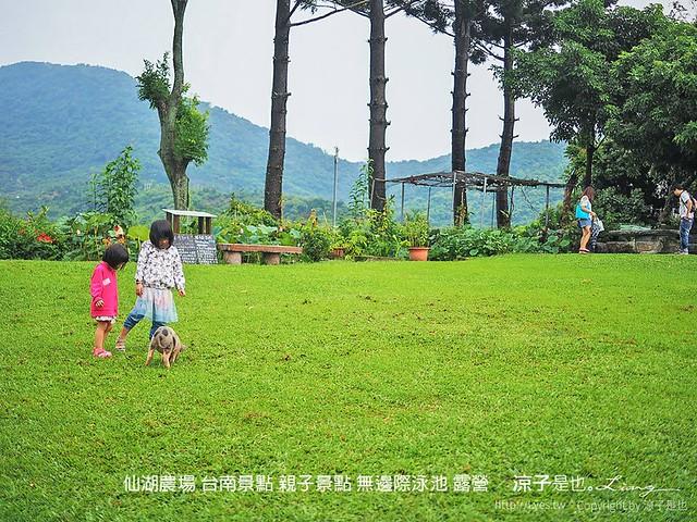 69 露營 台南景點 仙湖農場 無邊際泳池 親子景點