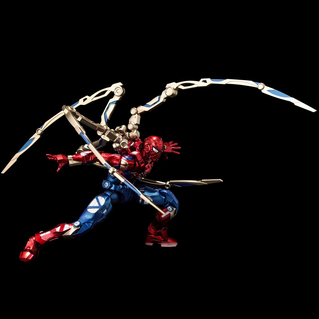 千值練 新系列 Fighting Armor 第二彈「鋼鐵蜘蛛」可動人偶 蜘蛛鋼爪超霸氣再現!