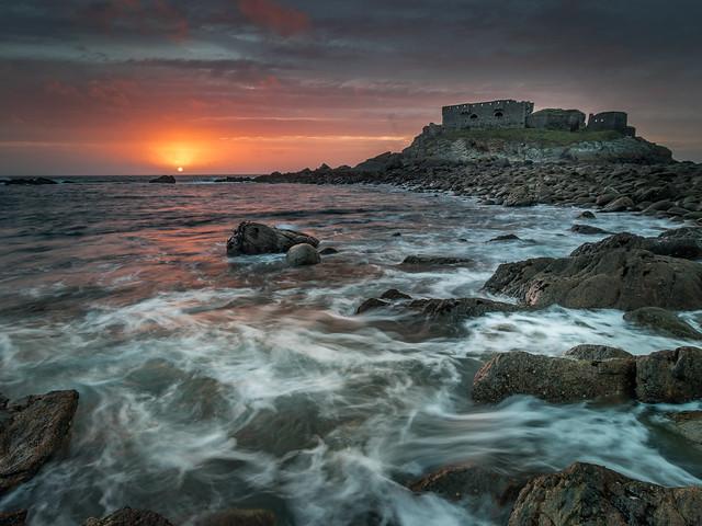 Retour sur un de mes spots préférés, le Fort de l'Îlette au Conquet