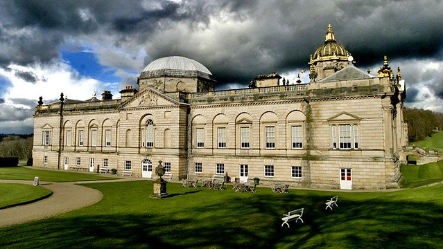 Storm clouds over Castle Howard