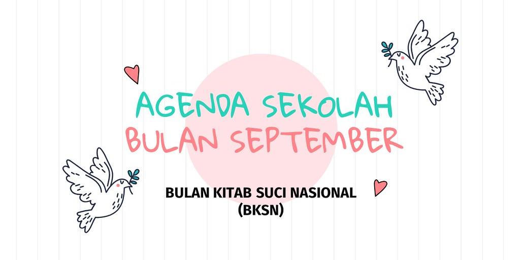 Agenda Bulan September 2020