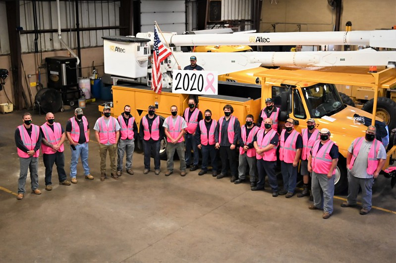 Breast Cancer Awareness Hills DPW Support