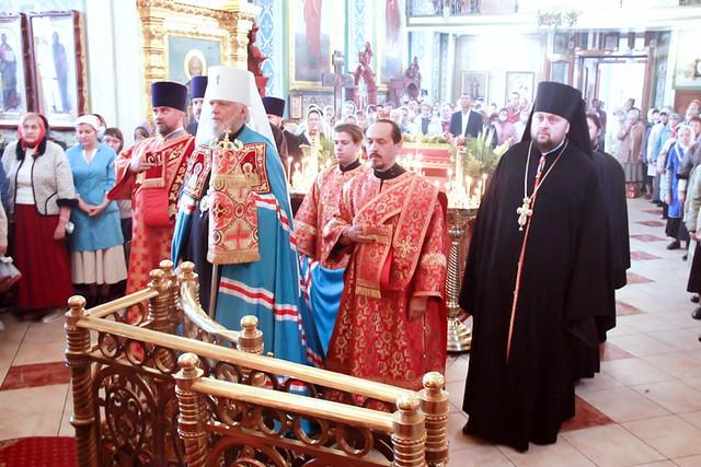 Престольный праздник в Успенско-Никитском храме 28.09.2020