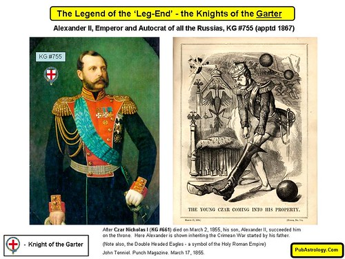 Legend of the Leg End - Alexander II Emperor and Autocrat of all the Russias KG 755 | by arthur.strathearn