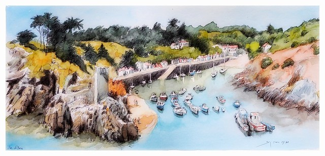 Île d'Yeu - Vendée - Pays de Loire - France