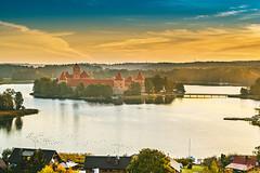 Trakai Island Castle | Lithuania aerial #273/365