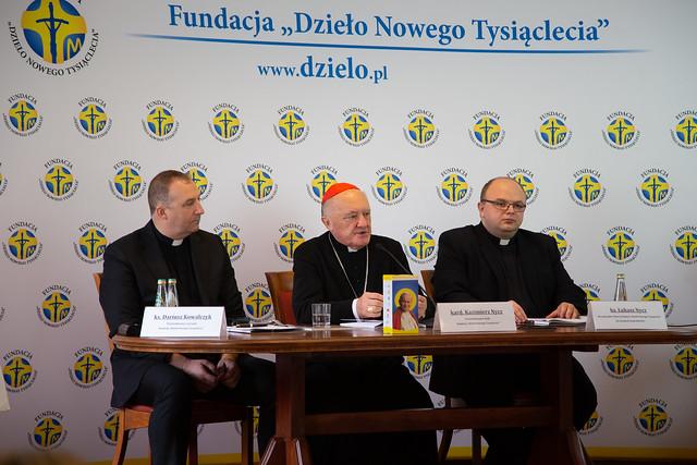 Konferencja prasowa przed Dniem Papieskim - Warszawa, 30 IX 2020 r.